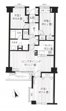 代々木カサグランデ503号室(賃貸)