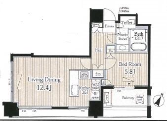 富ヶ谷スプリングス303号室(賃貸)