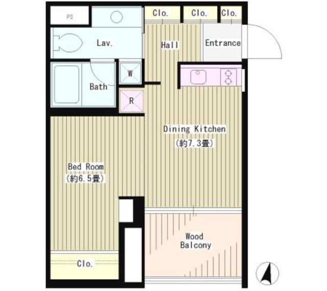 富ヶ谷アパートメント602号室(賃貸)