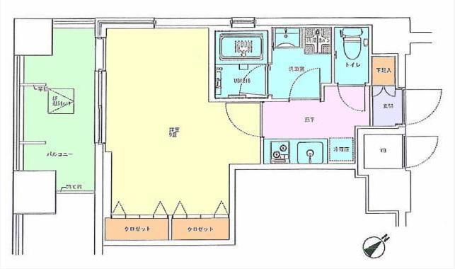 代々木パークハイツ801号室(賃貸)