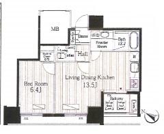 富ヶ谷スプリングス402号室(賃貸)