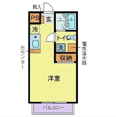 マックポナム代々木公園305号室(賃貸)