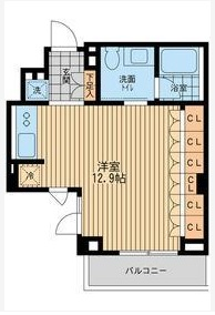 レジデンス代々木公園0306号室(賃貸)