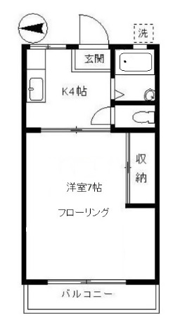ハイツまゆみ103号室(賃貸)
